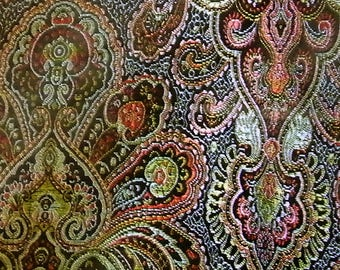 Gc216 fabric Brocade jacquard woven embroidery fine 0.5 m (50cm x90cm)