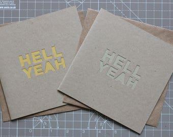 Congrats Handmade Greetings Card