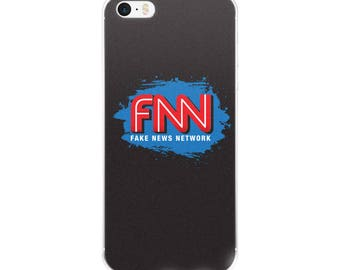 FNN Fake News Network iPhone Case 6/6s, 6/6s Plus, 7/7 Plus, X Cell Phone Case
