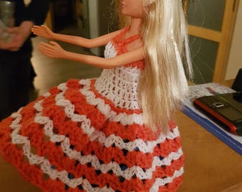 dress for barbie