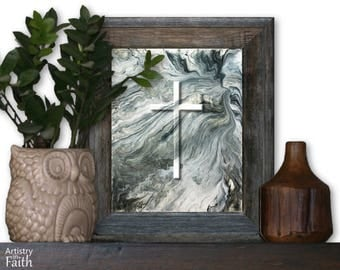 Decorative Cross, Spiritual Art, Christian Home Decor, Christian Wall Decor, Religious Decor, Religious Wall Art, Religious Art