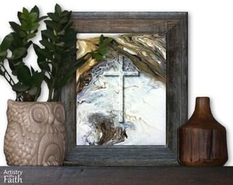 Religious Cross, Religious Decor, Christian Home Decor, Christian Wall Decor, Religious Wall Art, Religious Art, Spiritual Art