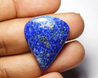 Natural Lapis Lazuli cabochons loose Gemstone AAA Quality Lapis Lazuli Loose stone Lapis Lazuli Handmade 100% Natural 30 Ct