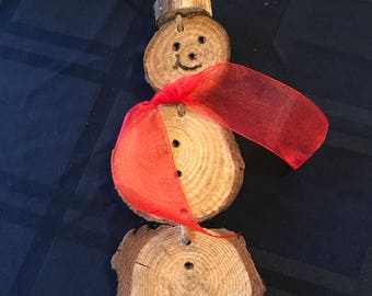 Farmhouse Snowman Ornaments