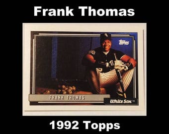 1992 Topps Frank Thomas