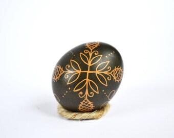 Pysanka Real Ukrainian Pysanky Traditional Ukrainian Easter egg Chicken Pysanka Easter Egg Pysanky Symbols Western Ukraine Easter gift Batik