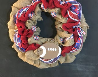 Buffalo Bills Wreath