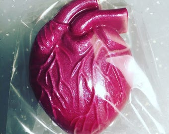 Custom Anatomical Heart Soap