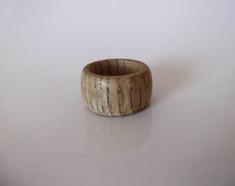 Wooden ring made from Oak