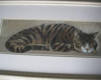 Adelene Fletcher Cat Nap Art Print