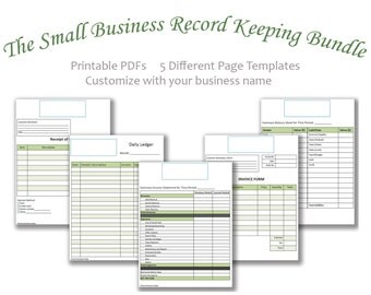 Small Business Record Keeping Bundle