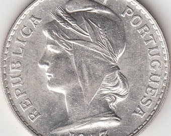 Portugal, 50 cents from 1913 silver coin