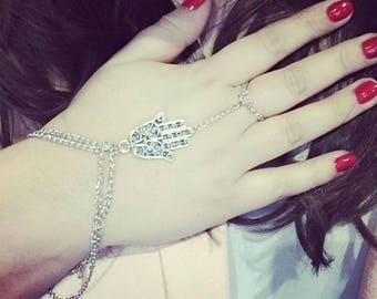 Hand of Hamsa bracelet