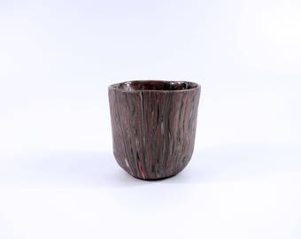 Handmade color porcelain layering cup