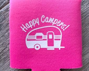 Happy Campers Koozie
