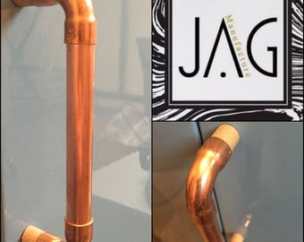 2 handles, door, drawer, industrial vintage