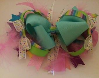Colorful OTT Boutique Bow