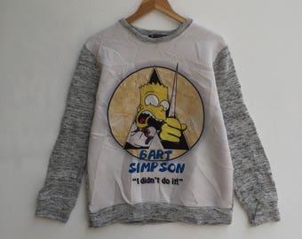 RARE!!! Vintage Bart Simpson Sweatshirt