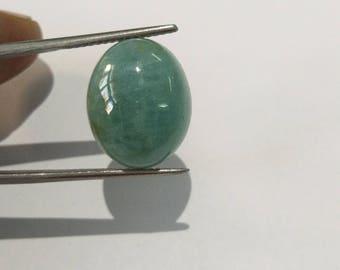 17 Cts Natural Gemstones Aquamarine Cabochon oval