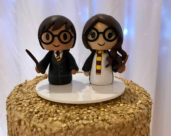 Harry Potter wedding cake topper