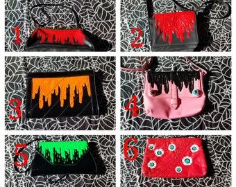 slime & eyeball purses