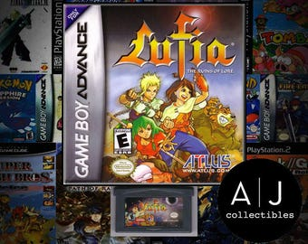 Lufia: The Ruins of Lore Nintendo Gameboy Advance GBA