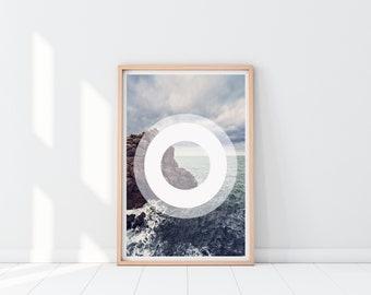 Beach Print | Home decor | Wall Art | Instant Download | 16x20