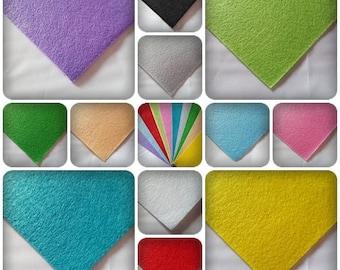 "12"" Felt square sheet, Felt sheet, Felt square, Craft felt, Plain felt, Polyester felt, Felt for crafting, Square felt sheet"