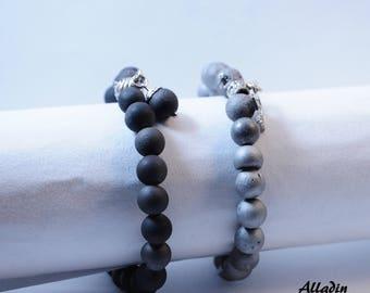 Chalcedony Gemstone Bracelet