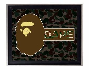 Bape Camo Poster or Art Print (a bathing ape)