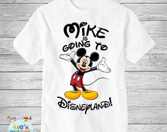 Mickey Mouse birthday shirt,Custom shirt ,personalized Mickey Mouse Shirt, family shirt,birthday shirt,kids custom birthday shirt d14