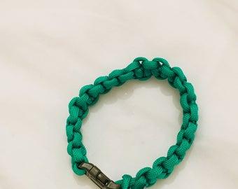 Green Paracord Bracelet