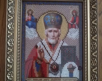 the icon of St. Nicholas the Wonderworker
