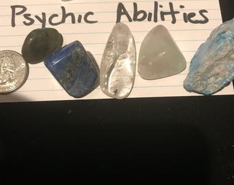 Psychic abilities crystal set