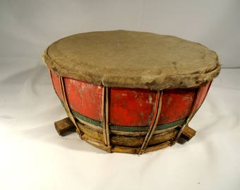 Very Old Ceremonial Drum from Bali, Indonesia