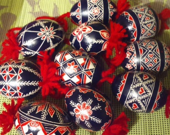 Easter eggs,egg,traditional Slovenian headwork,gift,color eggs,