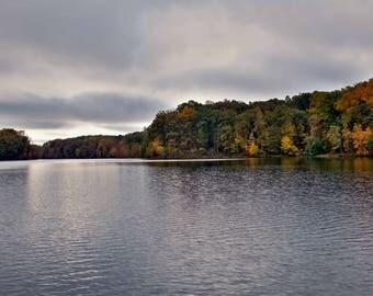 Lakeside Fall Foliage