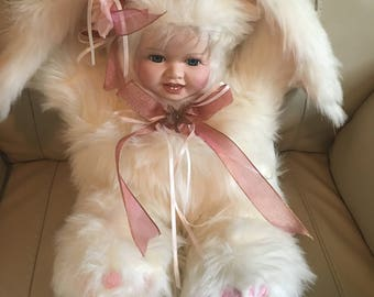 Honey Bunny from Born to be Wild Porcelain Doll