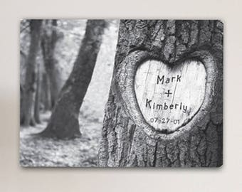 Personalized Tree of Love Canvas Print - Wood Canvas Sign - Personalized Family Canvas - Family Canvas - Love Canvas -  Heart Canvas Print