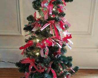 christmas garland etsy - Decorated Christmas Trees For Sale