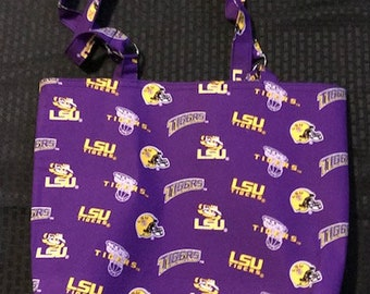 LSU Tigers Tote