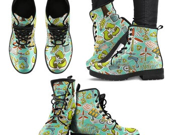 Environmentalist / Environmental Protection/ Environmentalism/Environmental Protection Campaign / Boots - Gift For Environmentalist