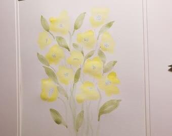 Yellow Flower Boquet