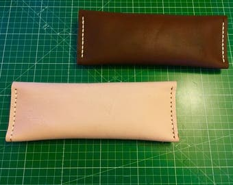Leather clucth