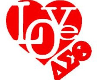 Love DST SVG