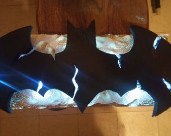 light up bat logo