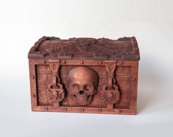 pirate chest for storing something