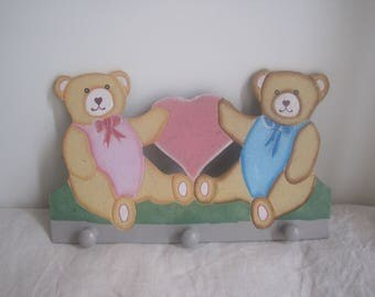 coat rack wooden children