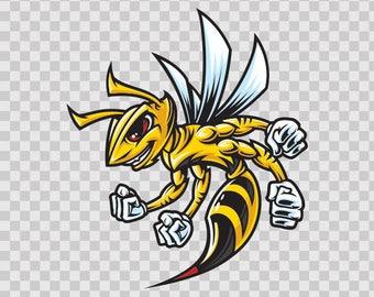 Sticker Decals Bee Hornet Wasp Atv Weatherproof Racing 11013