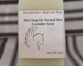 Pure Soap for Normal Skin - Lavender